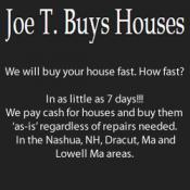 JoeT Buys Houses