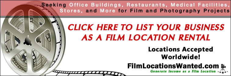 List your business as a filming location