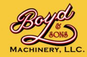 Boyd & Sons Machinery