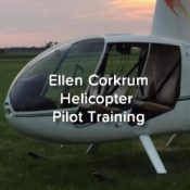 Ellen Corkrum Pilot Training